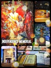 Independence Memorial - celebrating independence with an artsy museum and a stunning restaurant high above Windhoek
