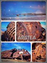 Aristea Ship Wreck - examining my very first ship wreck, after missing the skeleton coast in Namibia