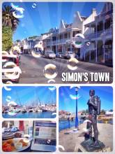 Simon's Town - eating fish'n'chips and working on my blog from one of the most picturesque villages