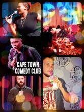 Cape Town Comedy Club - half priced Sunday evening laughter with standup comedy in a unique atmosphere