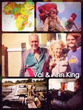 Ann & Val King - making new friends through staying with locals and sharing the passion of travels