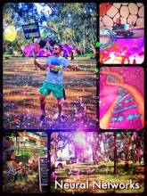 Neural Networks Festival - dancing like there is no tomorrow to psy trance goa in a forest near Johannesburg