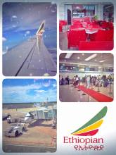 Ethiopian (Maputo > Frankfurt) - it's time to say goodbye; leaving lovely Africa after eight exciting months