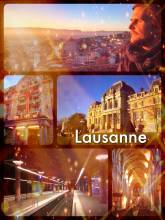 Lausanne - getting lost in the famous university city at the board of the picturesque Lake Geneva