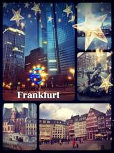 Frankfurt - walking through and dining in the old town of the European capital of finances