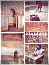Medersa Ben Youssef - studying the history in the largest Islamic college (now museum) of Morocco