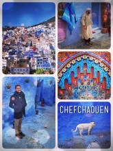 Chefchaouen - the blue city in Morocco, bringing heaven down to earth in a truly magical way