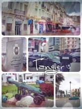Tangier - important harbor city on the Africa continent towards Europe at the straight of Gibraltar