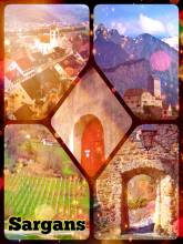 Sargans Castle - climbing up the mighty castle rock to overview the surrounding mountain peaks