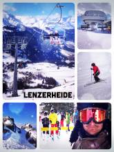 Lenzerheide - finally exploring the other ski resort that is connected to Arosa since 2014