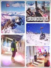 Rothorn - stunning 360° panorama from the highest accessible mountain from Lenzerheide