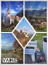 Vaduz - the capital of Liechtenstein feels like a small village but has a great castle