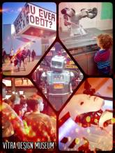 Vitra Design Museum - learning more about robots and artificial intelligence at a great exhibition