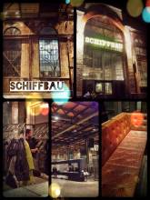 Schiffbau Zürich - getting some work done on a cozy couch before going clubbing in Zurich