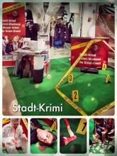 Stadt-Krimi - helping to create an uniquely thrilling mystery event exhibition booth