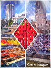 Kuala Lumpur - colourful and tasty melting pot of asian cultures, people and cuisine