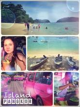 Pangkor Island - paradise in the Indian Ocean with yellow sanded beach and cocktails