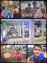 Manila Airport - experiencing the most troublesome arrival and departure in my life