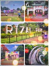 Rizal Park - urban park in honour of the national hero and the Philippines independence