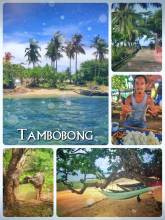 Tambobong Beach - spending a relaxing weekend with good friends, good food and golden sand