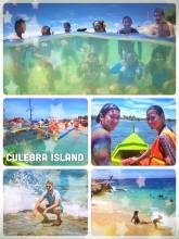 Culebra Island - getting sunburned on a small island filled with Filipinos on a weekend trip