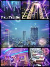 Pan Pacific - working from one of the highest rooftop bars in the Metro Manila area