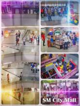 SM City Mall - working at one of the many huge shopping malls in the Metro Manila
