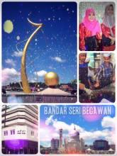 Bandar Seri Begawan - capital of the sultanate Negara Brunei Darussalam on Borneo