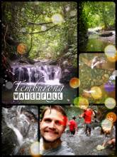 Temburong Waterfal - peaceful and natural retreat in the jungle with a natural fish spa