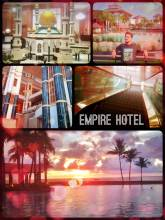 Empire Hotel Brunei - watching the sunset from (probably) the best hotel on Borneo