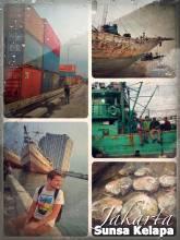 Sunda Kelapa - observing seamen loading and unloading goods at this historic port