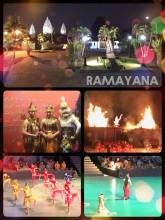Ramayana Ballet - watching an annoying version of the indian epic in a unique scenery