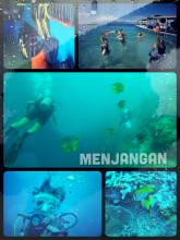 Menjangan - doing my first discovery scuba dive and loving every minute of it