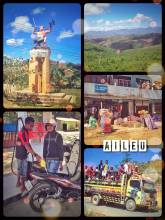 Aileu - on a mini road trip with a scooter into the heart of Timor Leste