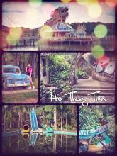 Ho Thuy Tien - exploring the abandoned and haunted waterpark in Vietnam near Hue
