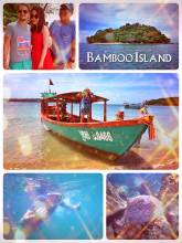 Bamboo Island - snorkeling, relaxing and taking pictures with Chinese tourists