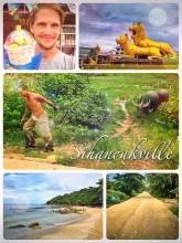 Sihanoukville - exploring the famous beach city and the rural village one street behind