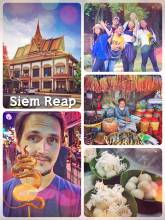 Siem Reap - the touristic city full of western food right next to the Angkor Wat