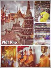 Wat Pho Temple - Thailand's most important royal temple with the largest Buddha