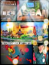 Ratchadamnoen Art Center - a fusion of contemporary art and an informative ASEAN exhibition