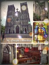 St. Joseph Cathedral - visiting the Notre Dame de Paris Cathedral in old town Hanoi