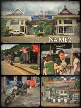 Na Meo (border Vietnam > Laos) - leaving Vietnam after a long drive on my motorbike on great roads