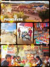 Phonsavan - reaching the small provincial capital in time before sunset