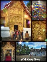Wat Xieng Thong - important Buddhist monastery where the Lao King gets crowned