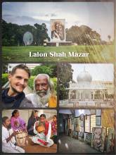 Lalon Shah Mazar - mausoleum of the most important Bengali songwriter and philosopher