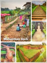 Mahasthan Garh - one of Bangladesh's earliest excavated urban places