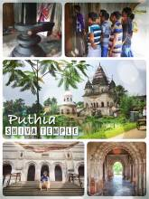Puthia Shiva Temple - beautiful temple with the largest Shiva Stone in Bangladesh