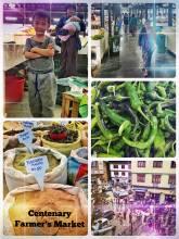 Centenary Farmers Market - where Bhutanese farmers bring their fresh produce to the capital