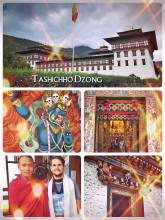 Tashichho Dzong - Buddhist monastery, fortress and seat of the local government
