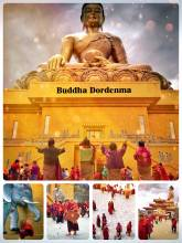 Buddha Dordenma - world's largest bronze Buddha housing over 100,000 mini Buddhas